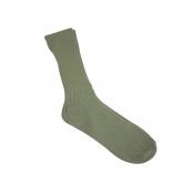 Art. nº 97 - Calcetín verde oliva 100% algodón