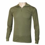 Art. nº 102 - Camiseta jersey cuello alto y cremallera