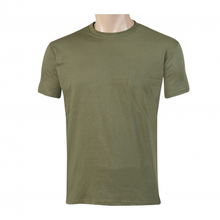 Art. nº 100 - Camiseta de algodón 100% en verde oliva
