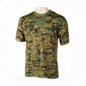 Art. nº 101 - Camiseta de algodón 100% en camuflaje digital