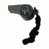 Art. nº 159 - Silbato ABS con brújula y termometro