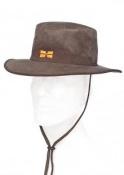 Art. nº 84 - Sombrero impermeable reversible con orejeras