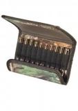 Art. nº 110 - Canana de cinturón para balas con cierre magnético en camu verde