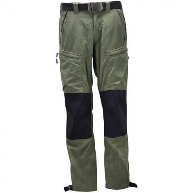 Art. 187- B7450 Pantalón Ranger Mountain con rodillas y culera aislante elástica e Impermeable en color musgo .